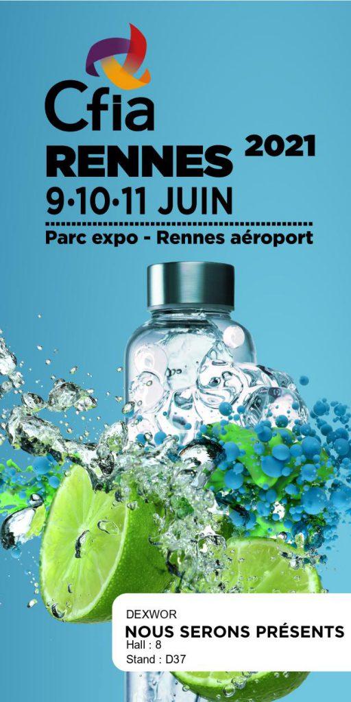 Salon CFIA Rennes 2021